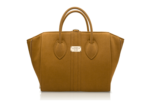 Alexander K vegan brown tote bag