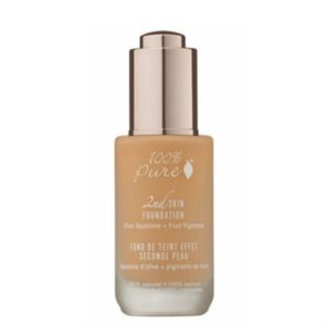 100% Pure 2nd Skin Foundation with Olive Squalane + Fruit Pigments - Shade 3 (Peach Bisque) - Sample Sachet