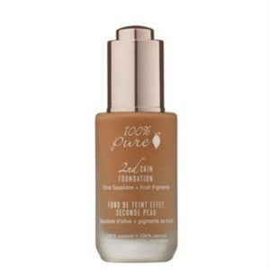 100% Pure 2nd Skin Foundation with Olive Squalane + Fruit Pigments - Shade 5 (Toffee) - 35ml