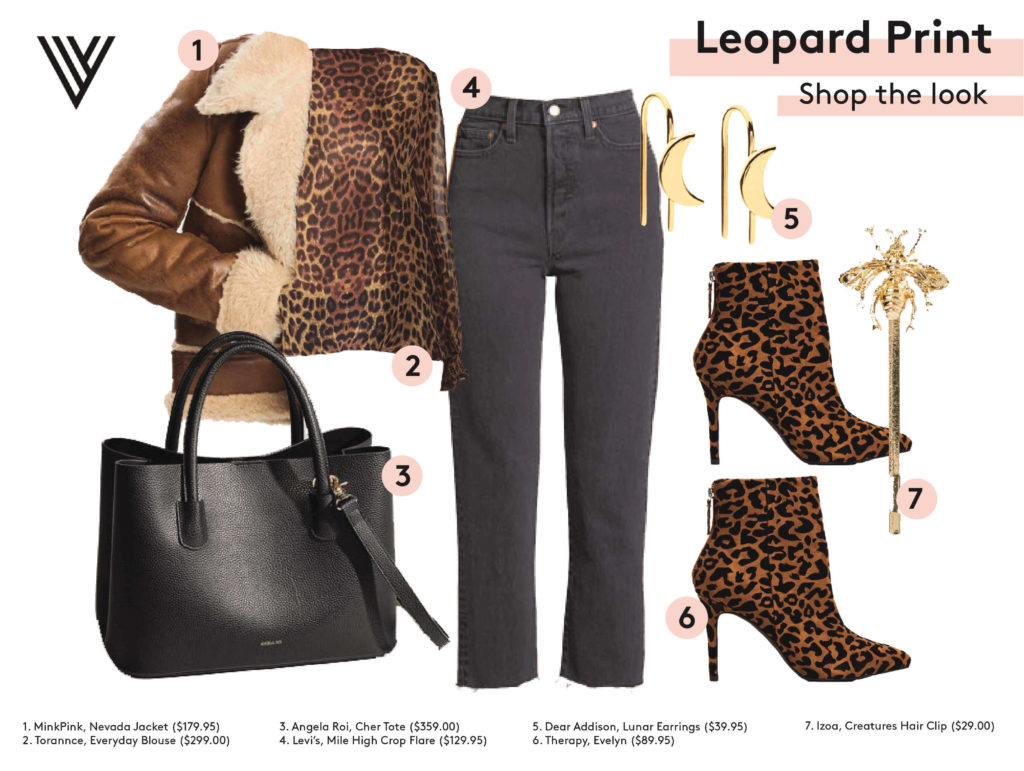 Leopard Up-Close Therapist Bag